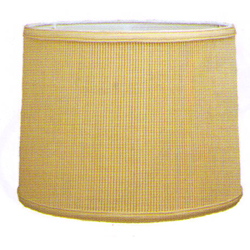 Shallow Drum Crystal Pleat Hardback Shade