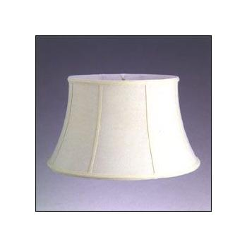 Silk Shantung Floor Lamp Shade with Fabric Lining