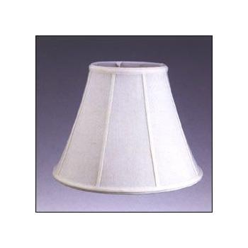 Empire Silk Shantung Lampshade with Fabric Lining