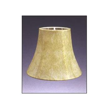Faux Leather Bell Chandelier Lampshade w/ No Lining