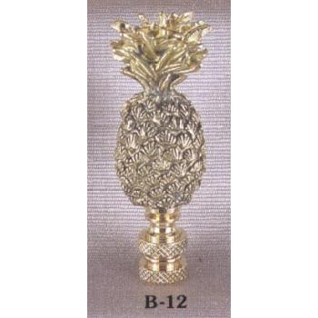Solid Brass Pineapple Lamp Finial