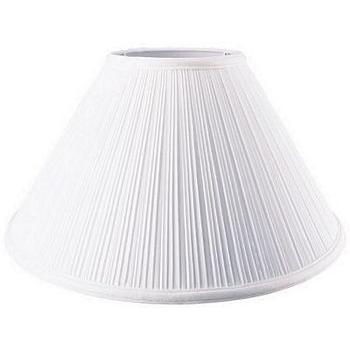 Coolie Cotton Mushroom Pleated Lampshade