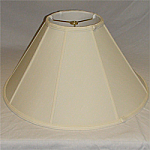 Coolie Silk Shantung Lampshade with Fabric Lining