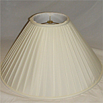 Coolie Acetate Soft Roll Pleated Lampshade