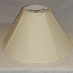 Coolie Silk Shantung Lampshade With Fabric Lining Lamp
