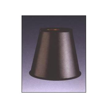 Black Parchment Empire Chandelier Lampshade with Gold Foil Lining