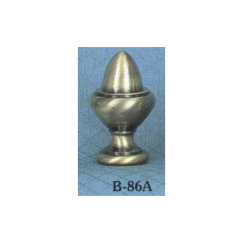 Solid Brass Antiqued Acorn Lamp Finial