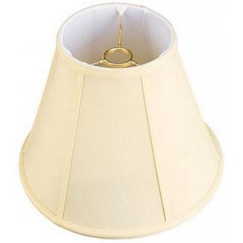 Uno Silk Shantung Floor Lampshade with Fabric Lining