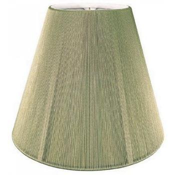Empire Silk String Chandelier Lampshade with Hand sewn Lining