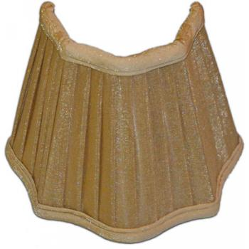 Beige Silk Pleated Sconce Shade