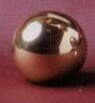 Sphere 20mm Lamp Finial in Polished Brass