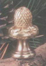 Antique Brass Acorn Fan Pull Chain