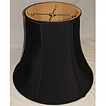 Silk Shantung Deep Bell with Fabric Lining