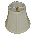 Silk Shantung Empire Chandelier Lampshade with Fabric Lining