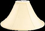 Silk Shantung Coolie Bell Lampshade